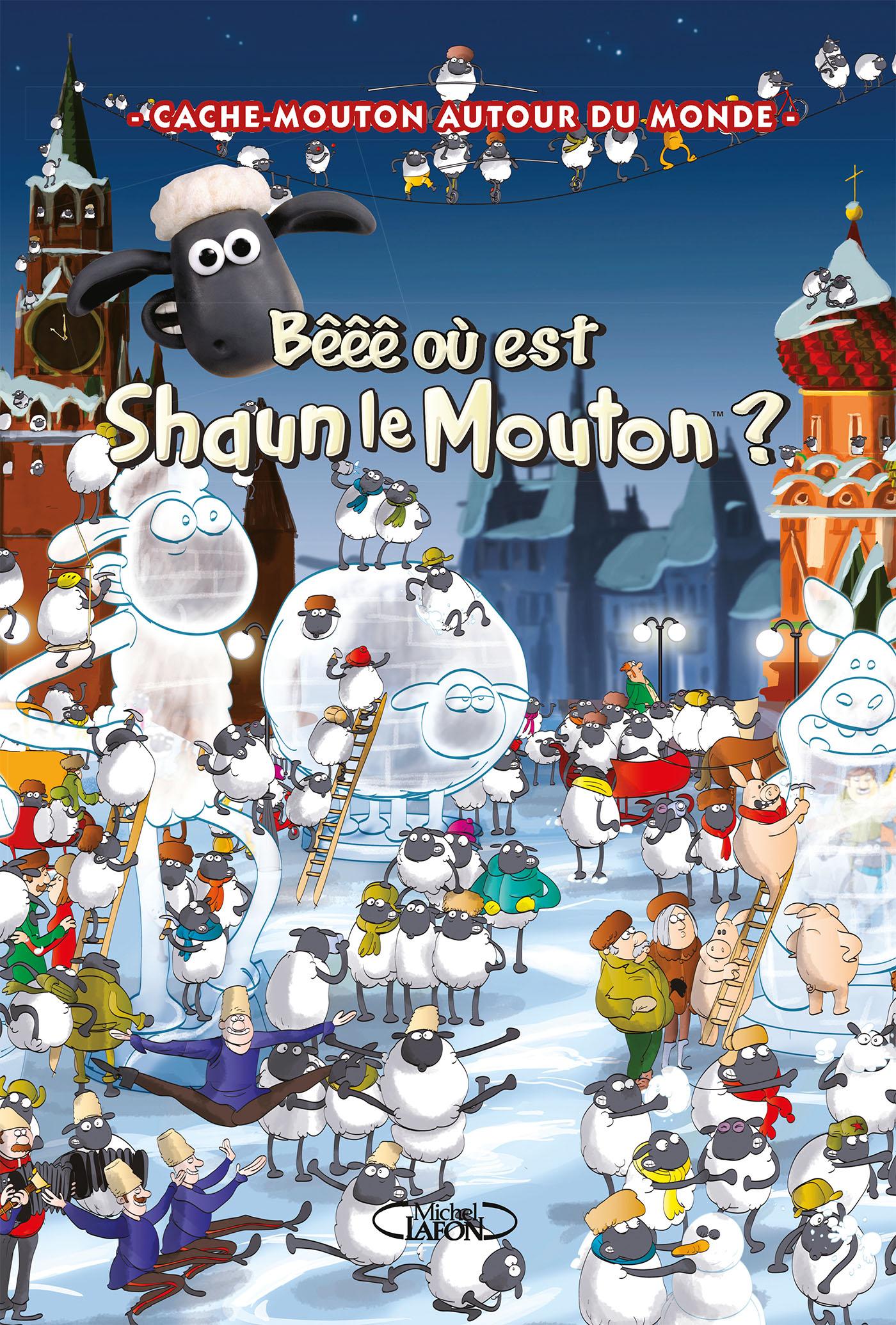 Cache-mouton autour du monde – Bêêê où est Shaun le Mouton