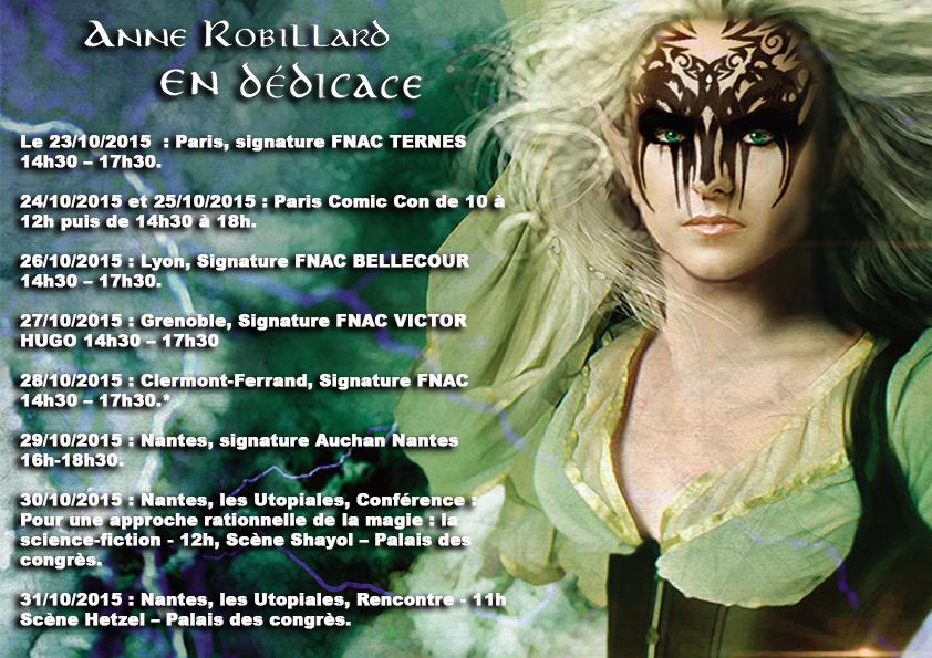 La tournée 2015 d'Anne Robillard !