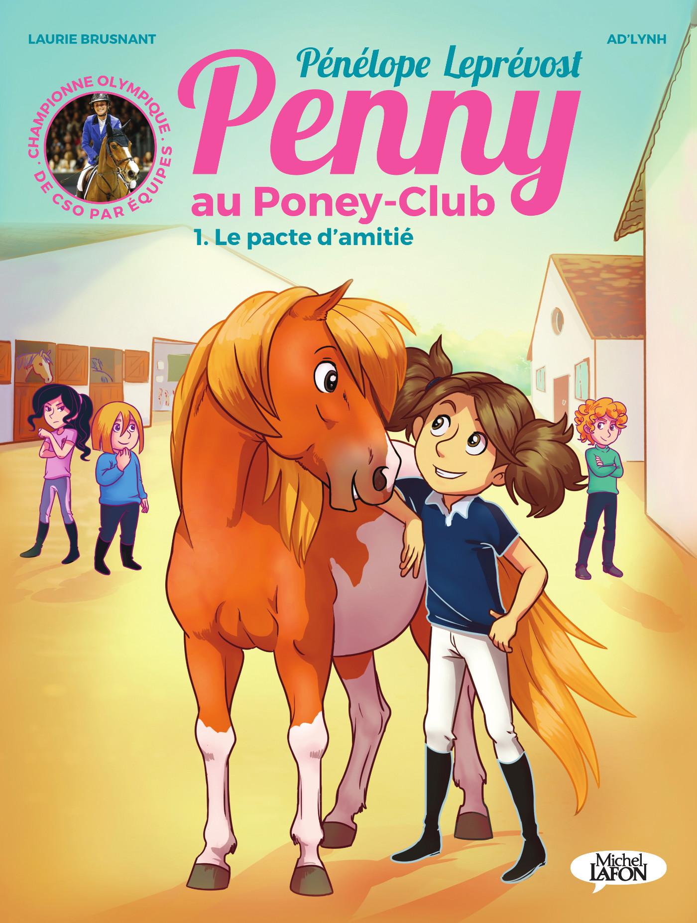 Penny au poney-club (BD) – T1