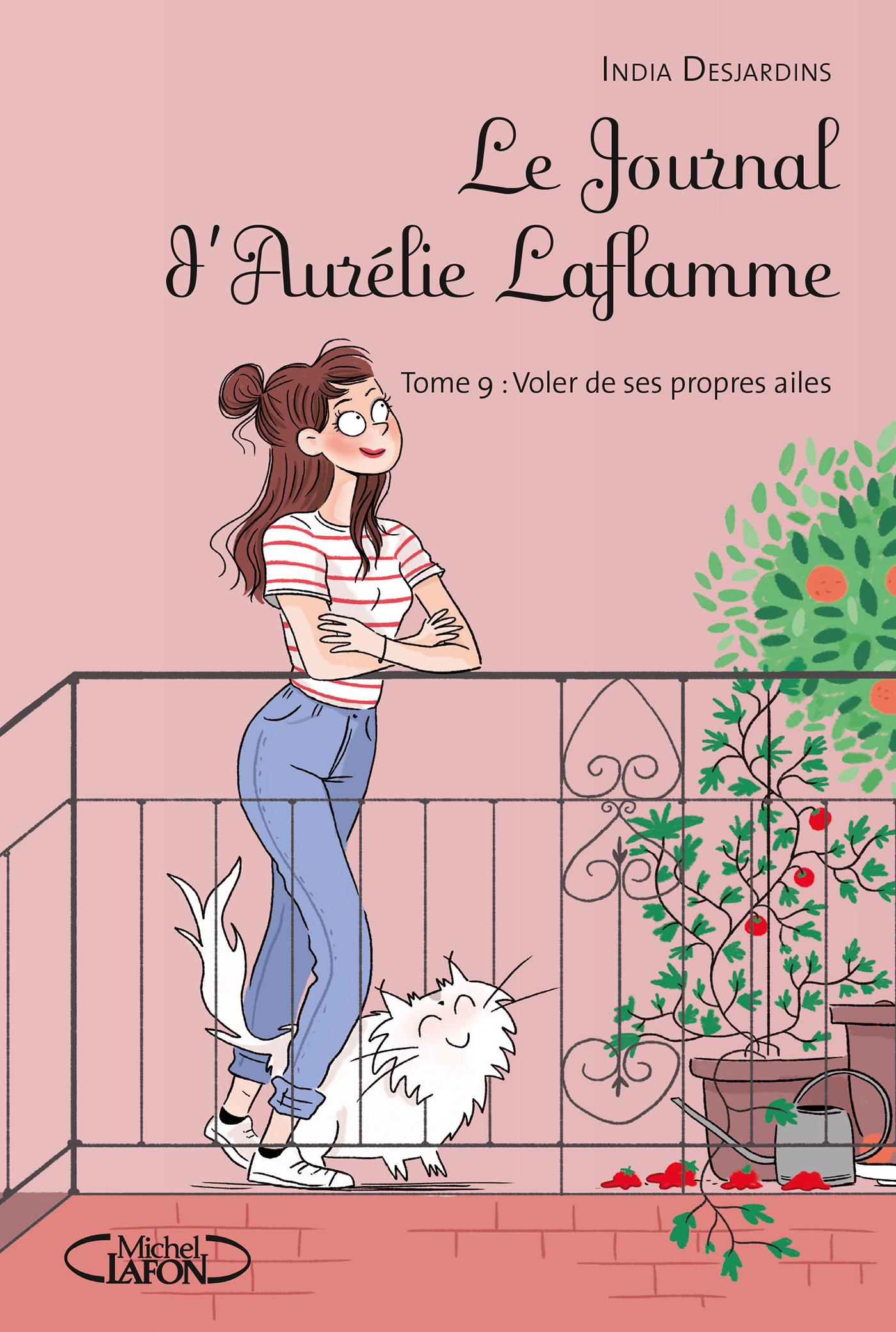 LE JOURNAL D'AURÉLIE LAFLAMME – Tome 9