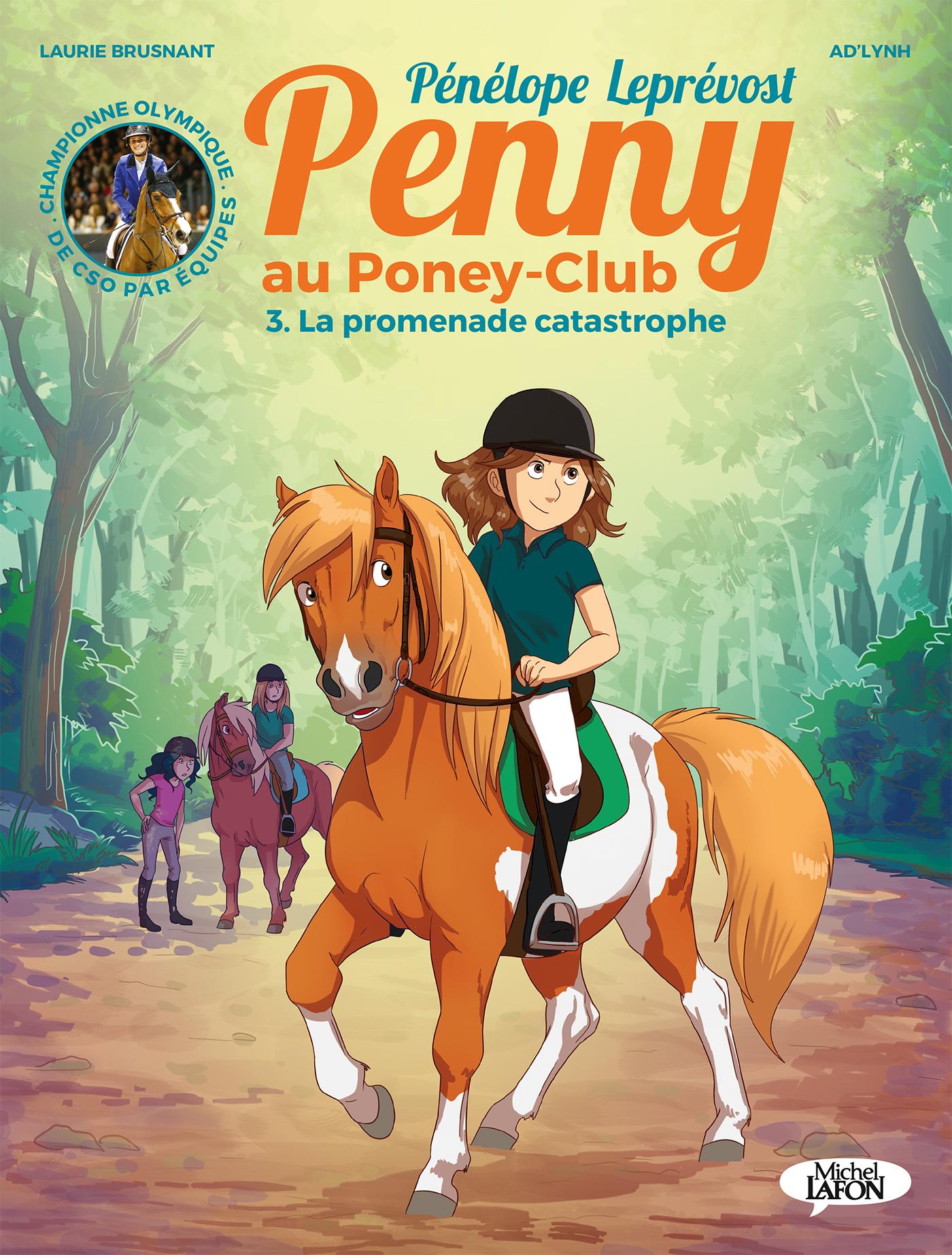 Penny au poney-club (BD) – T3 : La promenade catastrophe