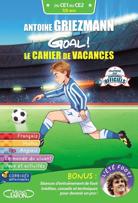 GOAL ! LE CAHIER DE VACANCES CE1-CE2